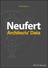 Architects' Data - Neufert, Ernst - ISBN: 9781119284352
