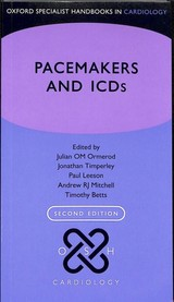 Pacemakers And Icds - Timperley, Jonathan (EDT)/ Leeson, Paul (EDT)/ Mitchell, Andrew R. J. (EDT)/ Betts, Timothy (EDT) - ISBN: 9780199687831
