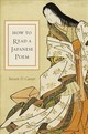 How To Read A Japanese Poem - Carter, Steven D. - ISBN: 9780231186827