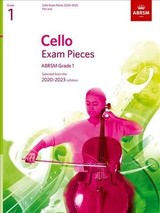 Cello Exam Pieces 2020-2023, Abrsm Grade 1, Part - Abrsm - ISBN: 9781786012715