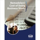 Remodelers' Cost Of Doing Business Study, 2017 Edition - Remodelers, Nahb - ISBN: 9780867187564