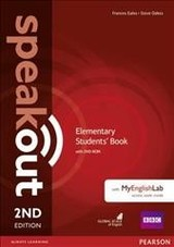 Speakout Elementary 2nd Edition Students' Book With Dvd-rom And Myenglishlab Access Code Pack - Oakes, Steve; Eales, Frances; Wilson, Jj; Clare, Antonia - ISBN: 9781292115931