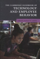 Cambridge Handbook Of Technology And Employee Behavior - Landers, Richard N. (EDT) - ISBN: 9781108476706