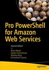 Pro Powershell For Amazon Web Services - Tsouris, Emmanuel; Bozo, Rodney; Armentrout, Steven; Beach, Brian - ISBN: 9781484248492