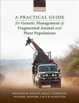 Practical Guide For Genetic Management Of Fragmented Animal And Plant Populations - Frankham, Richard (emeritus Professor, Emeritus Professor, Department Of Biological Sciences, Macquarie University, Australia); Ballou, Jonathan D. (scientist Emeritus, Scientist Emeritus, Smithsonian Conservation Biology Institute, Smithsonian Institution, Usa); Ralls, Katherine (emerita Research Zoologist, Emerita Research Zoologist, Smithsonian Conservation Biology Institute, Smithsonian Institution, Usa); Eldridge, Mark (principle Research Scientist, Principle Research Scientist, Terrestrial Vertebrates, Australian Museum, Australia); Dudash, Michele R. (professor And Department Head, Professor And Department Head, Department Of Natural Resource Management, South Dakota State University, Usa); Fenster, Charles B. (professor, Professor, Department Of Biology And Microbiology, South Dakota Agricultural Experiment Station, Usa); Lacy, Robert C. (senior Conservation Scientist Emeritus, Senior Conservation Scientist Emeritus, Chicago Zoological Society, Usa); Sunnucks, Paul (professor, Professor, School Of Biological Sciences, Monash University, Australia) - ISBN: 9780198783411