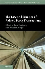 Law And Finance Of Related Party Transactions - Enriques, Luca (EDT)/ Troger, Tobias Hans (EDT) - ISBN: 9781108429283