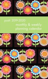 Posh: Flower Power 2019-2020 Monthly/weekly Diary - Engelbreit, Mary - ISBN: 9781449496982
