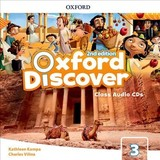 Oxford Discover: Level 3: Class Audio Cds - ISBN: 9780194053150