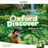 Oxford Discover: Level 4: Class Audio Cds - ISBN: 9780194053174