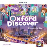 Oxford Discover: Level 5: Class Audio Cds - ISBN: 9780194053198