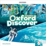 Oxford Discover: Level 6: Class Audio Cds - ISBN: 9780194053211