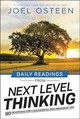 Daily Readings From Next Level Thinking - Osteen, Joel - ISBN: 9781546026501