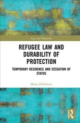 Refugee Law And Durability Of Protection - O'sullivan, Maria - ISBN: 9781138303461