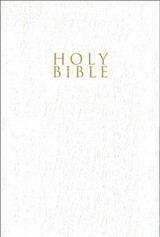 Niv, Gift And Award Bible, Leather-look, White, Red Letter Edition, Comfort Print - Zondervan, Zondervan - ISBN: 9780310450382