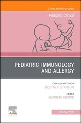 Pediatric Immunology And Allergy, An Issue Of Pediatric Clinics Of North America - ISBN: 9780323678926