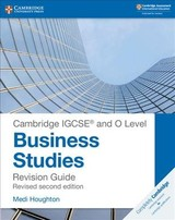 Cambridge Igcse  (r) And O Level Business Studies Second Edition Revision Guide - Houghton, Medi - ISBN: 9781108441742