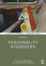 Personality Disorders - Emmelkamp, Paul M. G. (university Of Amsterdam, The Netherlands); Meyerbroeker, Katharina - ISBN: 9781138483057