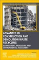 Woodhead Publishing Series in Civil and Structural Engineering, Advances in Construction and Demolition Waste Recycling - ISBN: 9780128190555
