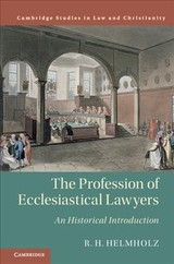 Profession Of Ecclesiastical Lawyers - Helmholz, R. H. (university Of Chicago) - ISBN: 9781108499064