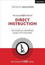 Researched Guide To Explicit And Direct Instruction - Boxer, Adam (EDT)/ Bennett, Tom (EDT) - ISBN: 9781912906376