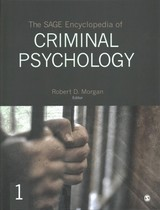 Sage Encyclopedia Of Criminal Psychology - Morgan, Robert D. (EDT) - ISBN: 9781483392264