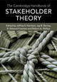 Cambridge Handbook Of Stakeholder Theory - Harrison, Jeffrey S. (EDT)/ Barney, Jay B. (EDT)/ Freeman, R. Edward (EDT)/... - ISBN: 9781316642047