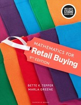 Mathematics For Retail Buying - Greene, Marla (lim College, Usa); Tepper, Bette K. (formerly Of The Fashion Institute Of Technology-new York, Usa) - ISBN: 9781501356704