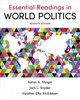 Essential Readings In World Politics - Mckibben, Heather Elko (university Of California, Davis); Mingst, Karen A. ... - ISBN: 9780393664614