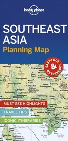 Lonely Planet Southeast Asia Planning Map - Lonely Planet - ISBN: 9781788686082