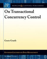 On Transactional Concurrency Control - Graefe, Goetz - ISBN: 9781681735504