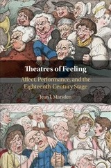 Theatres Of Feeling - Marsden, Jean I. (university Of Connecticut) - ISBN: 9781108476133