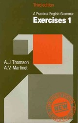 Practical English Grammar: Exercises 1 (low-priced Edition) - Martinet, A. V.; Thomson, A. J. - ISBN: 9780194313490