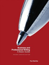 Business And Professional Writing - Macrae, Paul - ISBN: 9781554814725