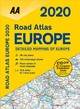 Aa Road Atlas Europe 2020 - Automobile Association (Great Britain) - ISBN: 9780749581428