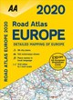 Aa Road Atlas Europe 2020 - Automobile Association (Great Britain) - ISBN: 9780749581435