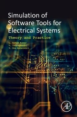 Simulation of Software Tools for Electrical Systems - Kumar, Ashok L.; Gandhi, Indra V.; Maheswari, Uma Y. - ISBN: 9780128194164