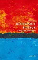 Renewable Energy: A Very Short Introduction - Jelley, Nick (department Of Physics And Lincoln College, University Of Oxford) - ISBN: 9780198825401