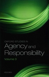 Oxford Studies In Agency And Responsibility - Shoemaker, David (EDT) - ISBN: 9780198744849