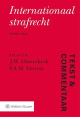 Tekst & Commentaar Internationaal strafrecht - ISBN: 9789013152678