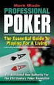 Professional Poker - Blade, Mark - ISBN: 9780976595786