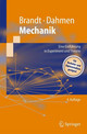 Mechanik - Dahmen, Hans Dieter; Brandt, Siegmund (department Of Physics, University Of... - ISBN: 9783540216667
