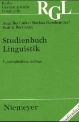 Studienbuch Linguistik - Linke, Angelika - ISBN: 9783484311213