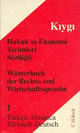 Türkisch-Deutsch - Kiygi, Osman N. - ISBN: 9783406413650