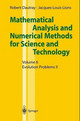 Mathematical Analysis And Numerical Methods For Science And Technology - Dautray, Robert; Lions, J. L. - ISBN: 9783540661023