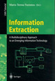 Information Extraction: A Multidisciplinary Approach To An Emerging Information Technology - Pazienza, Maria Teresa (EDT) - ISBN: 9783540634386