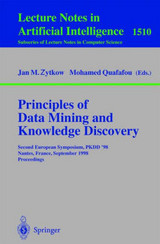Principles Of Data Mining And Knowledge Discovery - Pkdd 9/ Zytkow, Jan M./ Quafafou, Mohamed - ISBN: 9783540650683