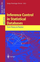 Inference Control In Statistical Databases - Domingo-Ferrer, Josep (EDT) - ISBN: 9783540436140