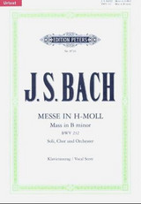 Mass In B Minor Bwv 232 Vocal Score - Bach, Johann Sebasti - ISBN: 9790014070823