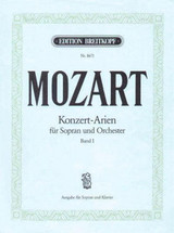 Complete Concert Arias For Soprano Vol1 - Mozart, Wolfgang Ama - ISBN: 9790004180648