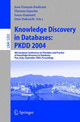 Knowledge Discovery In Databases: Pkdd 2004 - Boulicaut, Jean-Francois (EDT)/ Esposito, Floriana (EDT)/ Giannotti, Fosca ... - ISBN: 9783540231080
